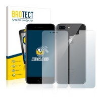 BROTECT® AirGlass® Pellicola Vetro Chiaro Ant+Post Apple iPhone 8