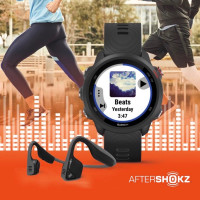 Garmin Forerunner 245 Music + AfterShokz Titanium
