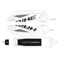 Adesivi Haibike Batteria Bosch 2014-2017