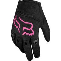 Fox Kids Dirtpaw Glove 2021 Guanti MTB da bambino Nero/Rosa