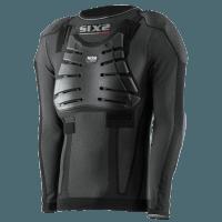 SIXS Protecth Maglietta a maniche lunghe prot. spalla, gomiti, petto e schiena