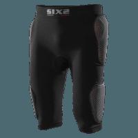 SIXS Short con fondello e protez. fianchi ed esterno coscia