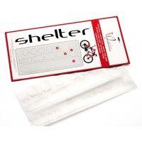 Pellicola protettiva per telaio Shelter con elementi prefustellati