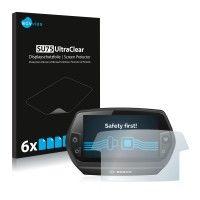 6x Savvies SU75 Pellicola Protettiva per Display Bosch Nyon