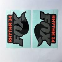 Adesivi originali Fox Rhythm 34