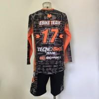Maglia personalizzata TecnoBike per Downhill e Freeride